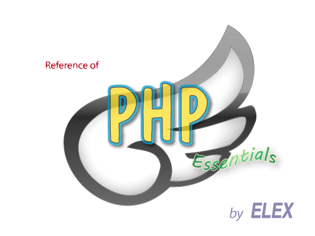 Reference of PHP Essentials